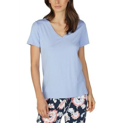 Foto van Mey Dames Night2Day T-Shirt TENDER BLUE 16939 570