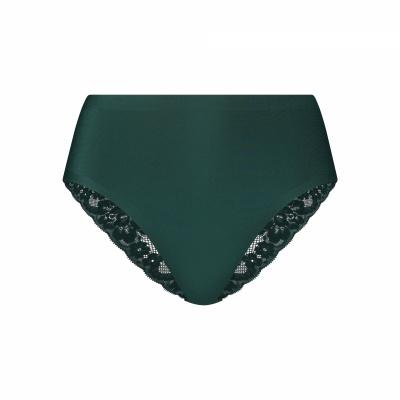 Foto van Ten Cate Secrets dames High Waist Brazilian Lace 31821 3194 forest green