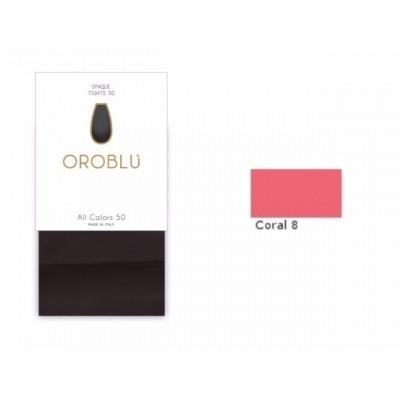 Foto van Oroblu All Colors 50 Panty CORAL8 OR1145050