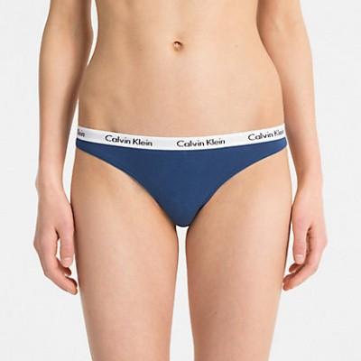 Foto van Calvin Klein dames string CAROUSEL D1617E-BXR