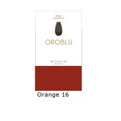 Foto van Oroblu All Colors 50 Legging ORANGE 16 OR1165050