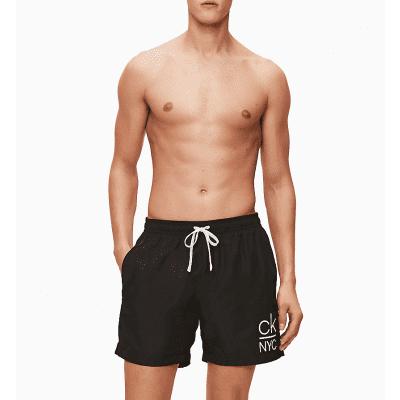 Foto van Calvin Klein Zwembroek voor heren BLACK KM0KM00440-BEH