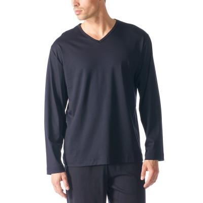 Foto van Mey Mix & Match T-Shirt lange mouw Blauw 20720 -74