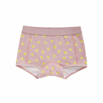 Foto van Ten Cate meisjes boxer BASIC ORGANIC Lemons 31959-2271