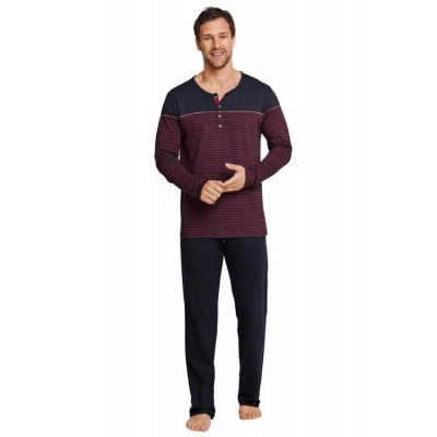 Foto van Schiesser Pyjama Long DEEP RED 164082 507