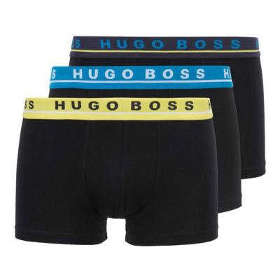 Foto van Hugo Boss heren boxer Trunk 3-Pack 50449458 985