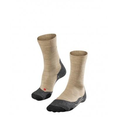 Foto van Falke TK2 Cool Trekking Sock Dames NATURE MEL. 16138-4100