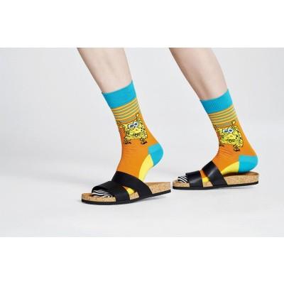 Foto van Happy Socks SPONGE BOB LET'S WORK IT BOB01-2700