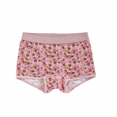 Foto van Ten Cate meisjes boxer BASIC ORGANIC pink leopard 31959-2273