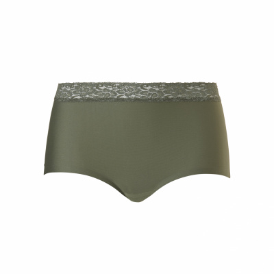 Foto van Ten Cate Secrets dames Maxi slip Lace ASH GREEN 31913 2261