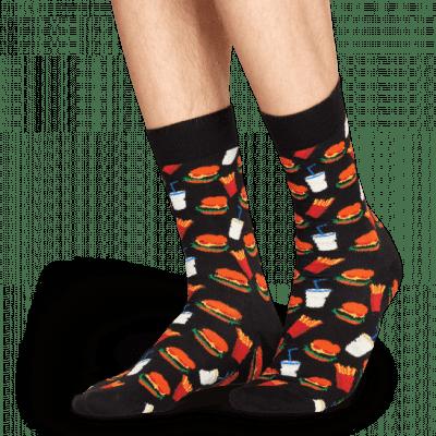 Foto van Happy socks Hamburger Sock HAM01-9000