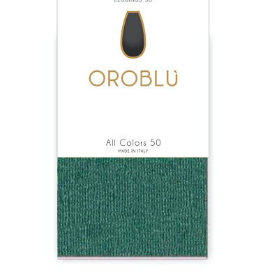 Foto van Oroblu All Colors 50 panty legging GREEN 25 OR1165050