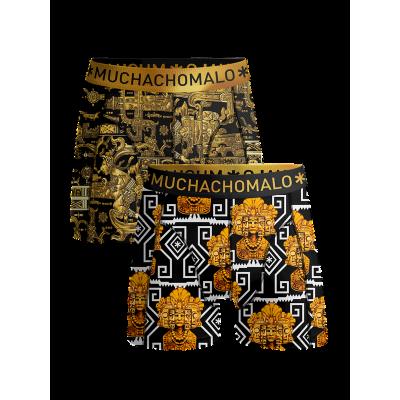Foto van Muchachomalo 2-Pack boxershort voor jongens MAYANS MAYAN1010-04J