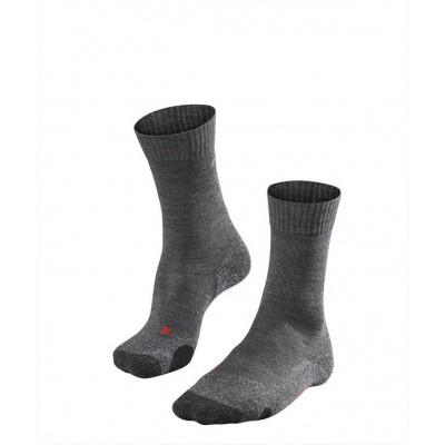 Foto van Falke TK2 Cool Trekking Sock Heren ASPHALT MEL. 16138-8180