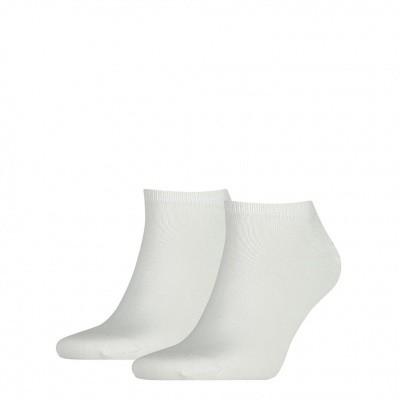 Foto van Tommy Hilfiger Heren sneaker sokken 2-pack WHITE 342023001