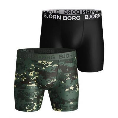 Foto van Bjorn Borg 2-Pack Heren boxer PERFORMANCE microfiber 2111-1143 81461