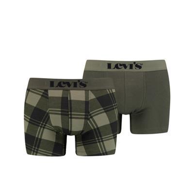 Foto van Levi's 2-Pack Boxer Khaki 701203903 020