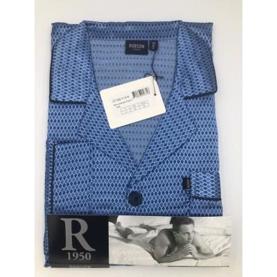 Foto van Robson Satijnen heren pyjama 27182-713-6