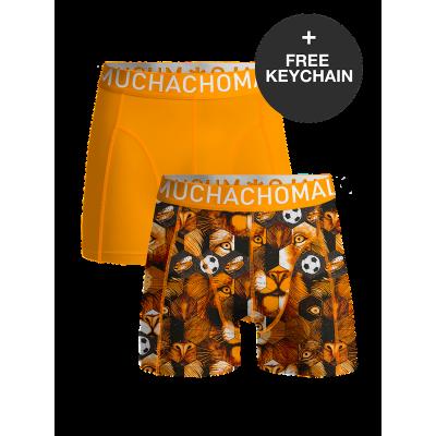 Foto van Muchachomalo 2-Pack boxershort voor jongens FOOTBALL WCLEO1010-01J
