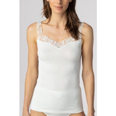 Foto van Mey Emotion Elegance dames hemd met kant CHAMPAGNE 55362 005