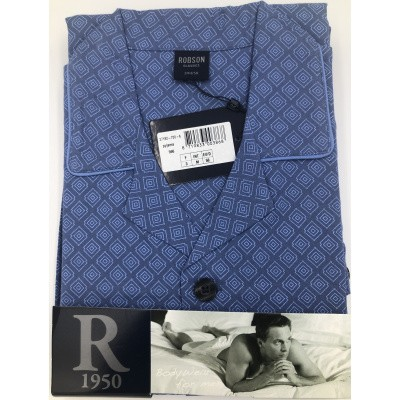 Foto van Robson Katoenen Heren pyjama RB27182-700