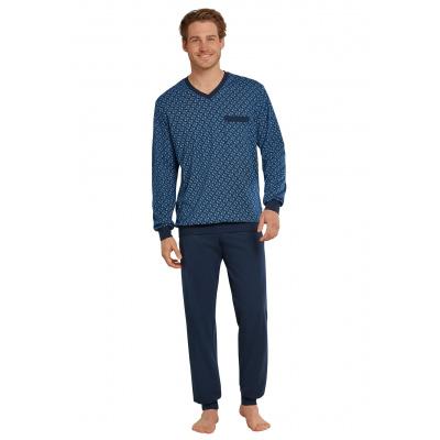 Foto van Schiesser Heren pyjama/loungewear set DONKER BLAUW 171421 - 803