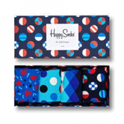 Foto van Happy Socks NAVY Gift Box XNAV09-6500