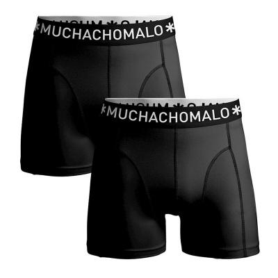 Foto van Muchachomalo micofiber heren boxer short Zwart 2-Pack MICROFIBER1010 - 05