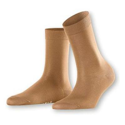 Foto van Falke Cotton Touch Sock CAMEL 47673 4609