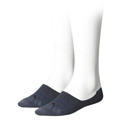 Foto van Puma Sneaker Footie Sock 2-Pack Denim 141011001