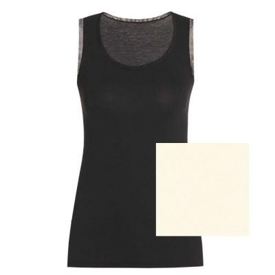 Foto van Oroblu dames hemd Tank top uit de Perfect Line serie VOBT01648 IVORY