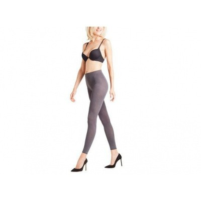 Foto van Falke Cotton Touch Legging ANTHRA MIX 40084