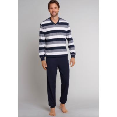 Foto van Schiesser Heren pyjama/loungewear set Dark Navy 159623-803