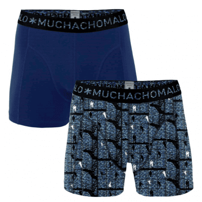 Foto van Muchachomalo heren boxer short 2-Pack WESTSIDE STORY WESTO1010-01