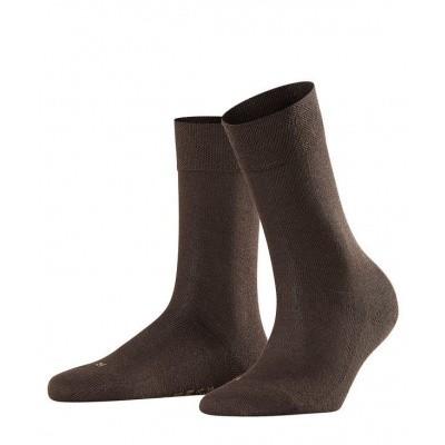 Foto van Falke Sensitive Damessok London DARK BROWN 47686 5239