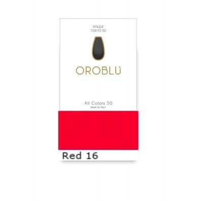 Foto van Oroblu All Colors 50 Panty RED 16 OR 1145050