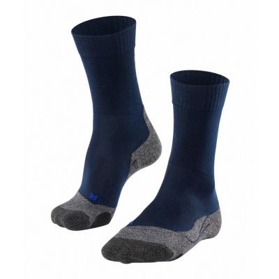 Foto van Falke TK2 Cool Trekking Sock Heren MARINE 16138-6120