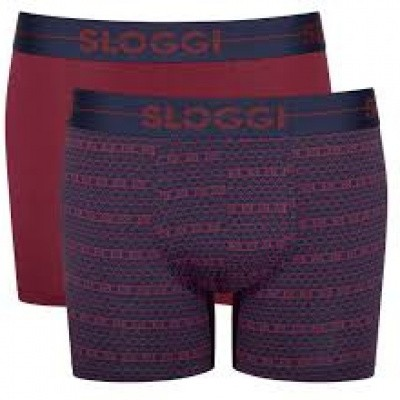 Foto van Sloggi heren boxershort 2-Pack GO 10198168 M006