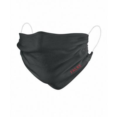 Foto van Falke mond en neusmasker 2-Pack Unisex model zwart 44801 3009