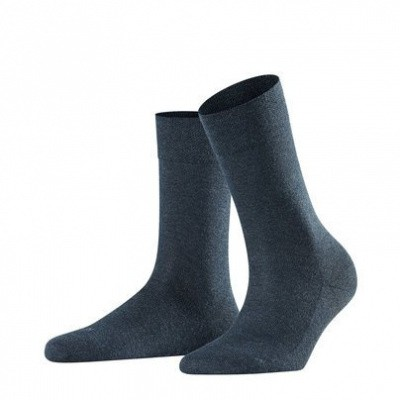 Foto van Falke Sensitive Damessok London NAVY BLEU MELE 47686 6499