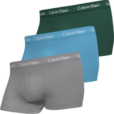 Foto van Calvin Klein Cotton Stretch low rise heren boxer 3-Pack 0000U2664G-M9Y