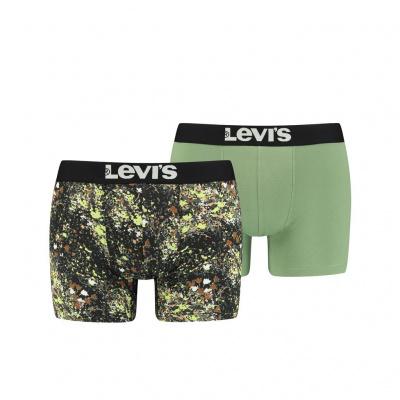 Foto van Levi's 2-Pack Boxer GREEN COMBO 100001643 002