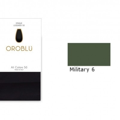 Foto van Oroblu All Colors 50 Legging MILITARY6 OR1165050
