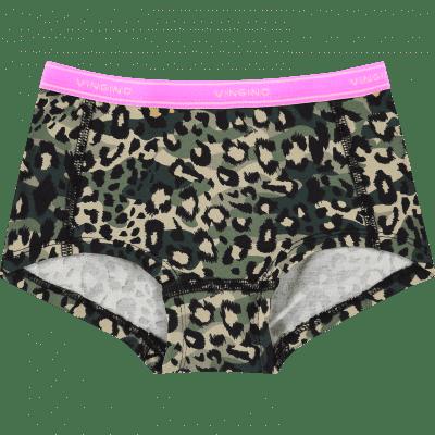 Foto van Vingino 2-Pack meisjes boxers Junglerules Multicolor Army Green SS20KGN72606-202