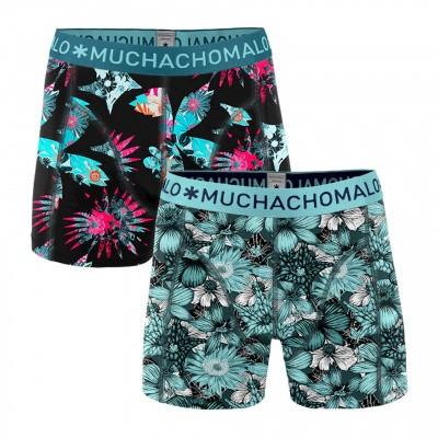 Foto van Muchachomalo heren Boxer short EXTINCT PLANTS 2-Pack XPLANT1010 04