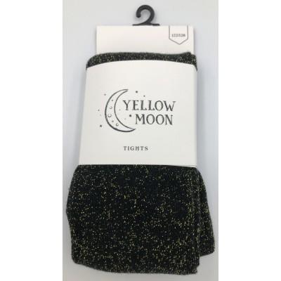Foto van Yellow Moon Meisjes Glitter Lurex Maillot BLACK/GOUD 93007