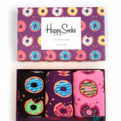 Foto van Happy Socks DONUTS Gift Box SXDON08-5300
