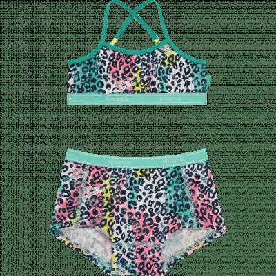 Foto van Vingino 2-Pack meisjes setje Boxer + topje Paradise set New Ocean SS20KGN73101-227