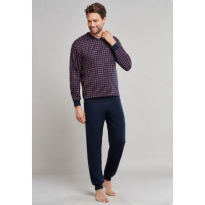 Foto van Schiesser Pyjama Lange broek / lange mouw Bordeaux 159618-502