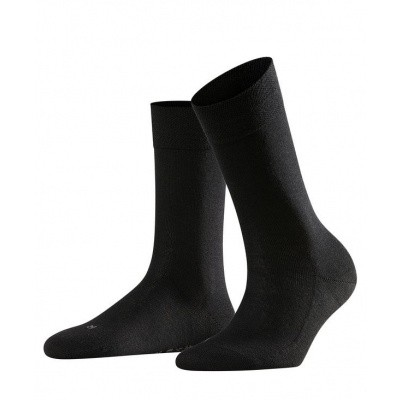 Foto van Falke Sensitive Damessok London BLACK 47686 3009